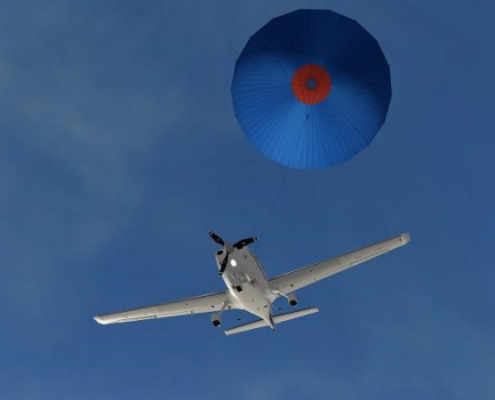Whole Aircraft Rescue Parachute System