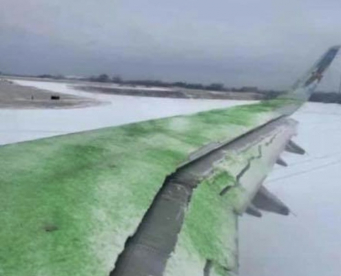 How Not to Deice a Plane